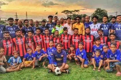 মুন্সীগঞ্জে ফুটবল লীগের উদ্বোধণ 