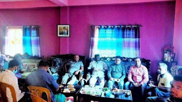 মনির হোসেন মিটুলের সাথে সাংবাদিকদের চা চক্র