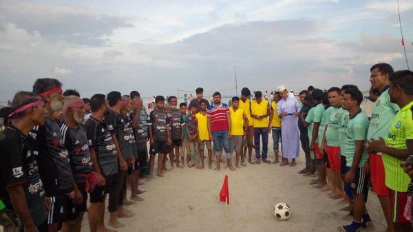 চিলমারীতে একটি আর্কষণীয় প্রীতি ফুটবল ম্যাচ অনুষ্ঠিত
