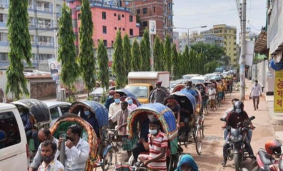 কুমিল্লায় লকডাউনের ৪র্থ দিন