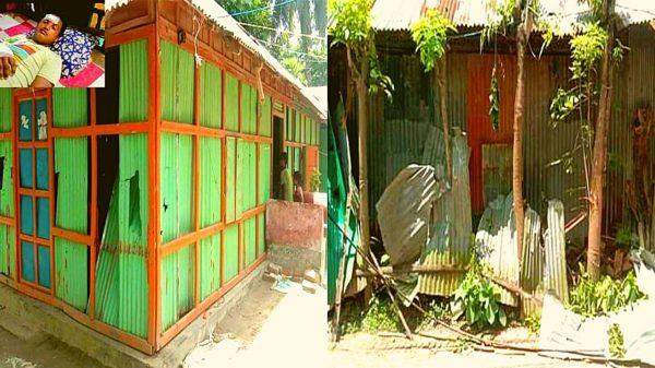 কুমিল্লায় আ'লীগ নেতার বসতি-বাড়ীতে হামলা ৬টি ঘর ভাংচুর